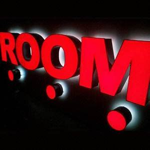 Honest signage channel letter with backlight red face for 24 inch channel letters