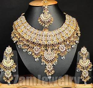 Fashion EDH Designer Bollywood Gold Plated Jewelry Indian ...