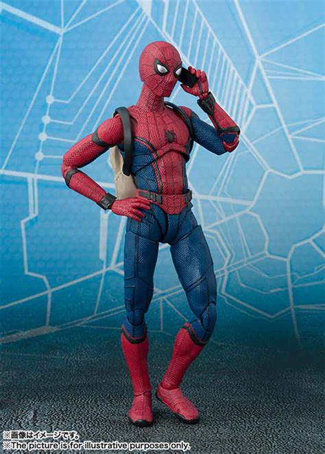 cool spider man homecoming figure revealed cosmic book news