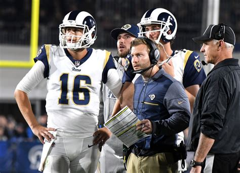 jared goff   system quarterback rams push