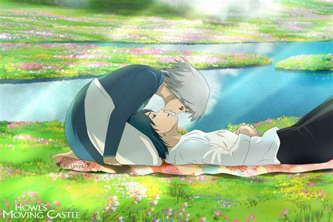 Howl S Moving Castle Wallpaper Widescreen Howl 39 S Moving Castle Howl And Sophie By Lesya7 On Deviantart