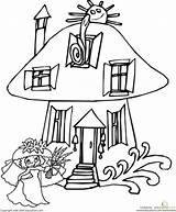 Mushroom Coloring Opera Sydney Worksheet Fairy Pages Printable Getcolorings Woodland Education Sheet sketch template