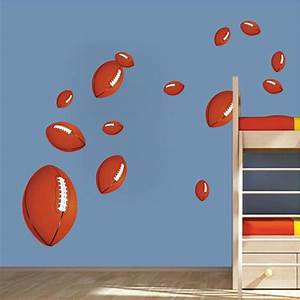 football wall decals football wall art stickers kids39 With football wall decals