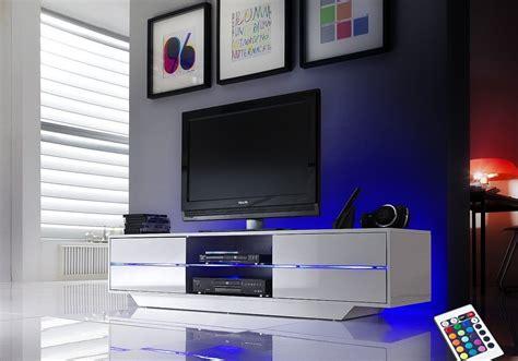 tele pour cuisine meuble tv electra blanc conforama