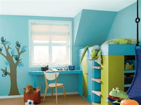 peinture associer les couleurs avec harmonie bleu vert vert et chambres