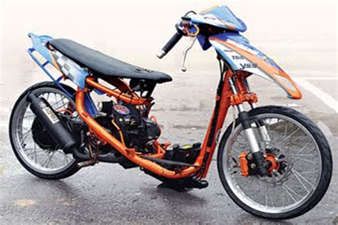 Jupiter Z Thailand Look Style by Modification Yamaha Mio Drag Style The New Autocar