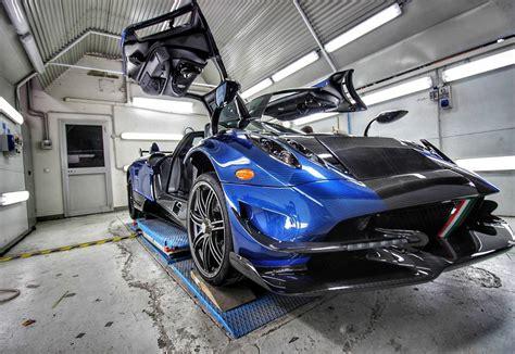 Macchina Volante Blue Carbon Pagani Huayra Bc Macchina Volante