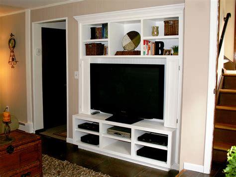 built in tv cabinet entertainment centers modern diy designs
