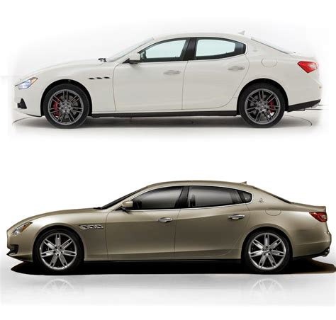 2017 maserati ghibli vs quattroporte differences between maserati ghibli and quattroporte 2014