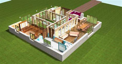 mobil home 3 chambres plan 3d et pour votre immobilier