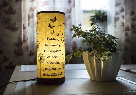 Paldies! - Tējas Lampa 25 cm augsta - Latvijā ražotas ...