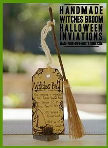 Homemade, Halloween, Invitations