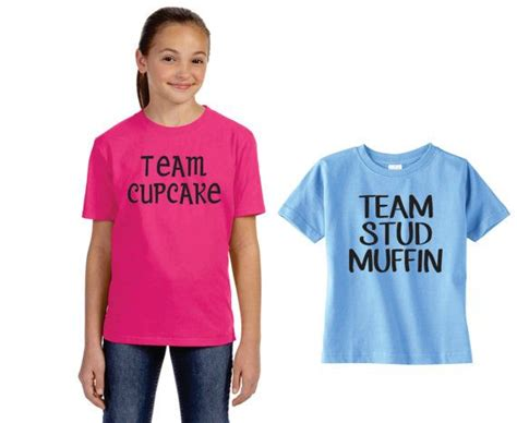 gender reveal t shirt ideas team stud muffin or team cupcake t shirts custom t shirt