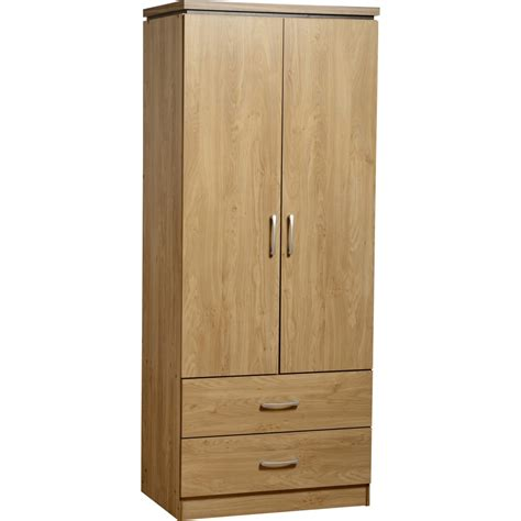 2 Door Wardrobe by Charles 2 Door 2 Drawer Wardrobe