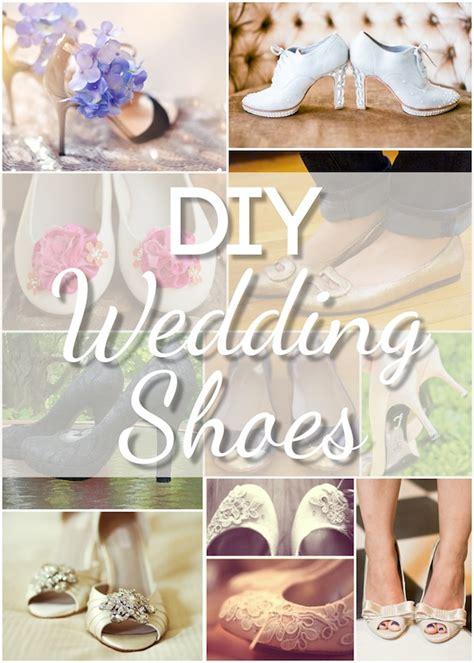 stunning diy wedding shoes blissfully domestic
