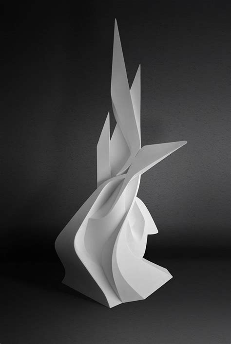 Abstract Shapes Sculpture by Milestone On Behance In 2019 Shape Sculpture