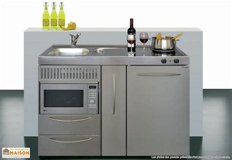 meuble cuisine pour studio meuble de cuisine aménagement maison aménagement
