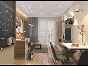 Двухкомнатная квартира 48 кв м с кухней гостиной YouTube