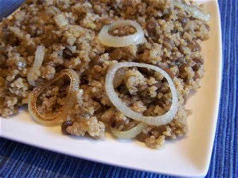 comment cuisiner du boulgour boulgour aux lentilles plat du jour recettes de