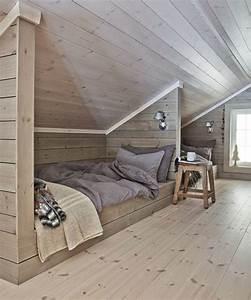 idees decoration amenagement combles combles deco With chambre dans les combles photos