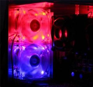 Coolermaster Neon LED Case Fans Review Overclockers Club
