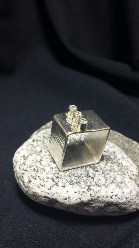 square ring  mm cz ethan taylor designs  images