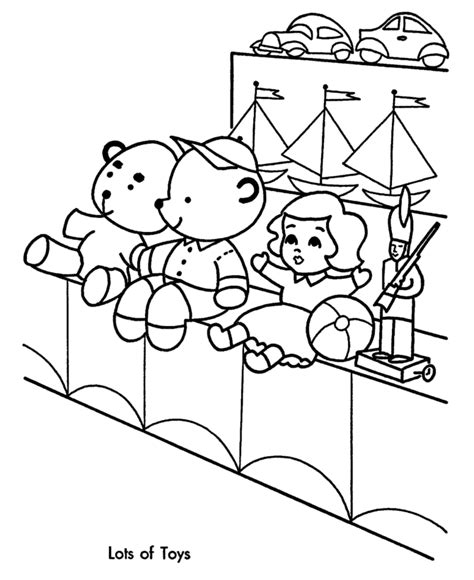 Coloring Toys by Toys Coloring Pages And Print For Free
