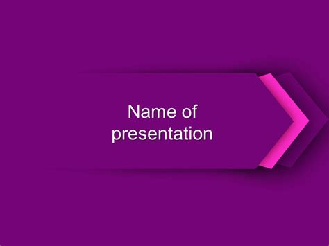 purple powerpoint template big apple templates