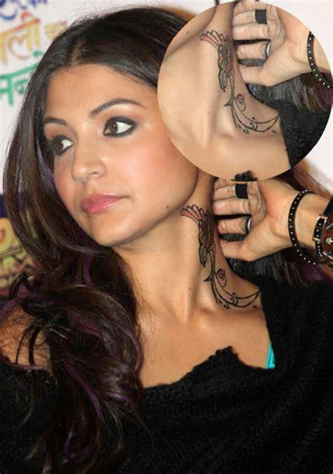 actresses  tattoos female actress tattoos