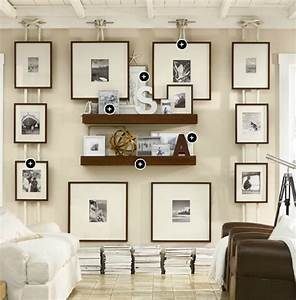 gallery wall idea using boat cleat and nautical rope from With pottery barn wall decor ideas