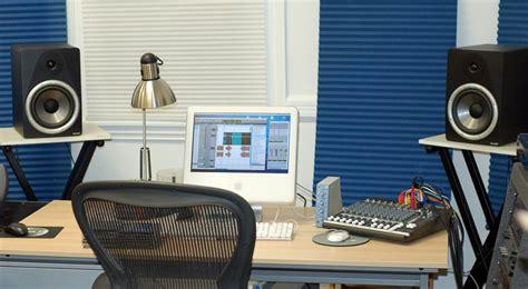 setting   small recording studio update transom