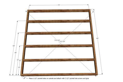 white king bed frame work witk wood design popular free plans bed frame
