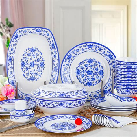 blue and white dinnerware 56 quality blue and white glaze bone china dinnerware set marriage dishes bowl indinnerware sets