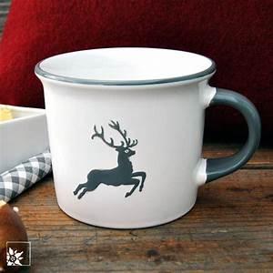 Gmundner Keramik Hirsch : gmundner keramik haferl grauer hirsch alpen shop wohlgeraten ~ Watch28wear.com Haus und Dekorationen