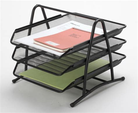 Office Desk Trays by China Office Desk Trays Metal Mesh Stationery File Tray