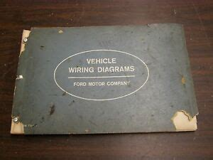 Oem Ford Wiring Diagram Book Galaxie Fairlane Comet