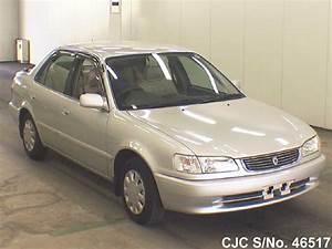 1998 Toyota Corolla Silver For Sale