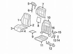 Jeep Patriot Seat Back Recliner Adjustment Handle  Beige