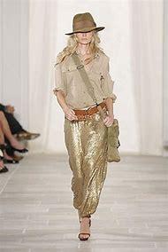 Ralph Lauren Sequin Pants