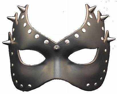 Leather Mask Graz Fiamma Devil Spike