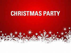 Christmas parties here and there