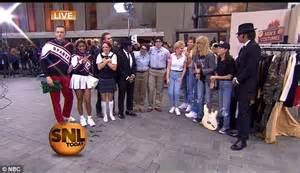Today hosts recreate the looks of 13 Saturday Night Live ...