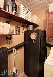 Steampunk Laundry Room Reveal