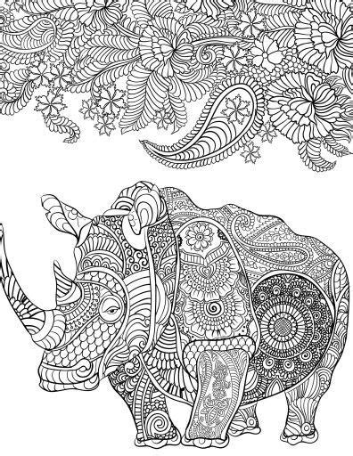 106 best images about coloring hippo, rhino on Pinterest