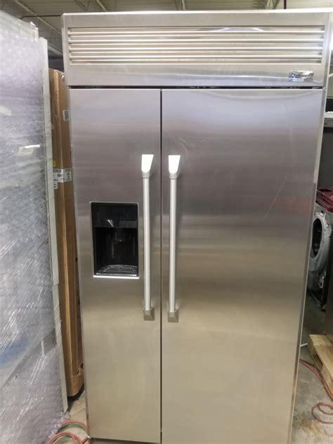 ge monogram   built  refrigerator stainless  warranty  sale  dallas tx offerup