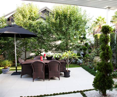 This Picture-perfect Courtyard Garden Is Small In Size But