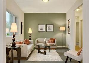 Living room paint ideas with accent wall paint color for Living room wall paint ideas