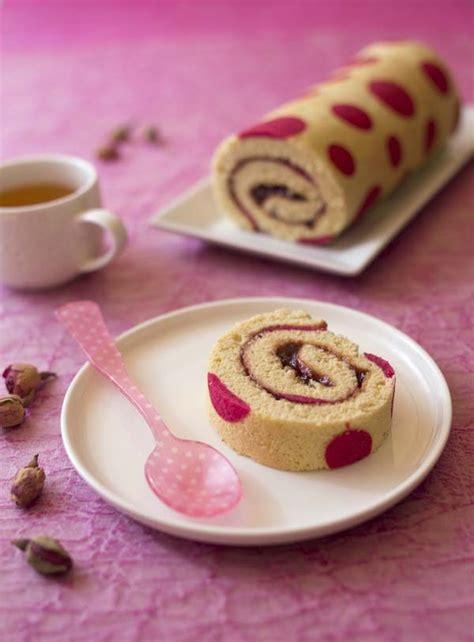 truc facile à cuisiner diy gâteau roulé beau avec des petits points le