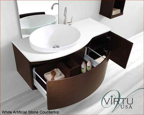 white kitchen sinks virtu usa 48 quot single bathroom vanity set isabelle in 1048