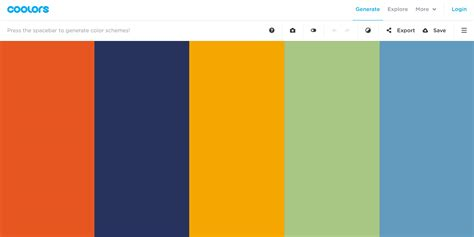 helpful resources  color palette inspiration